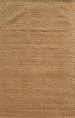 Rizzy Home Technique Collection 100% Wool 9'x12' Dark Beige (TECTC827100280912)