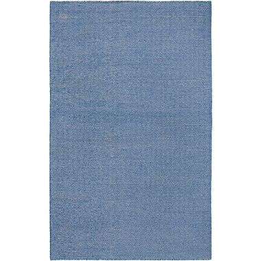 Rizzy Home Twist Collection New Zealand Wool Blend 9'x12' Blue (TSTTW292200330912)