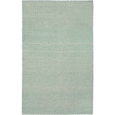 Rizzy Home Twist Collection New Zealand Wool Blend 5'x8' Green (TSTTW292700470508)
