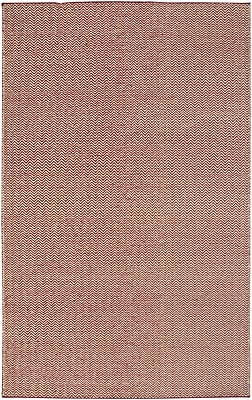 Rizzy Home Twist Collection New Zealand Wool Blend 2' x 3' Burgundy (TSTTW296700140203)