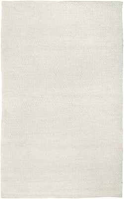 Rizzy Home Twist Collection New Zealand Wool Blend 3' x 5' Off White (TSTTW306500930305)