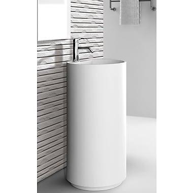 Fine Fixtures Crestview 18'' Pedestal Sink w/ Overflow