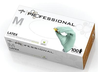 Medline Professional Latex Exam Gloves Small 100ct