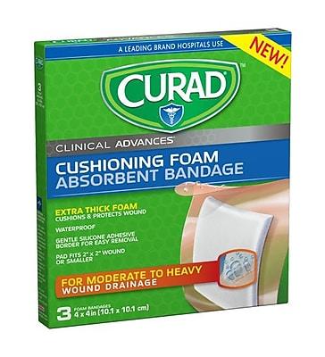 CURAD® Cushioning Foam Absorbent Bandage, 4