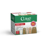 CURAD® Bandage Variety Pack, 200 Count
