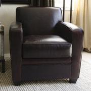 Elements Fine Home Furnishings Dexter Top Grain Leather Standard Chair