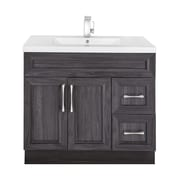 Cutler Kitchen & Bath Classic 36'' Single Vanity Set; Karoo Ash