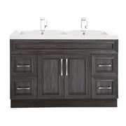 Cutler Kitchen & Bath Classic 48'' Double Vanity Set; Karoo Ash