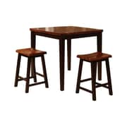 Wildon Home   3 Piece Counter Height Pub Table Set
