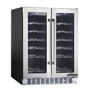 ThorKitchen 36 Bottle Dual Zone Built-In Wine Refrigerator