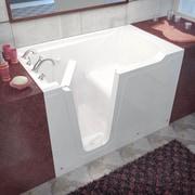 Therapeutic Tubs Crescendo 59.7'' x 35.8'' Soaking Bathtub; Left