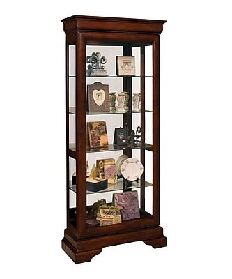 Philip Reinisch Co. Avignin Lighted Curio Cabinet