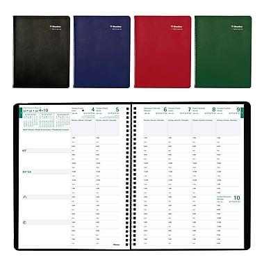 Blueline® - Planificateur scolaire hebdomadaire 2016/2017, 11 po x 8 1/2 po, trilingue, couleurs variées