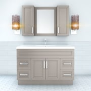 Cutler Kitchen & Bath Urban 48'' Vanity Single Bowl; Daybreak