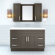 Cutler Kitchen & Bath Urban 48'' Vanity Single Bowl; Sundown