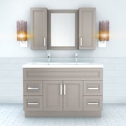 Cutler Kitchen & Bath Urban 48'' Vanity Double Bowl; Daybreak