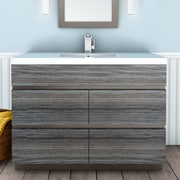 Cutler Kitchen & Bath Boardwalk 48'' Single Bathroom Vanity Set; SouthWester