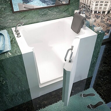 Therapeutic Tubs Catalina 39'' x 27'' Soaking Bathtub; Left