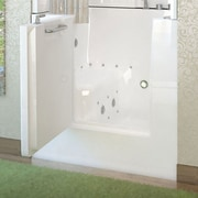 Therapeutic Tubs Mesa 40'' x 31'' Whirlpool & Air Jetted Bathtub