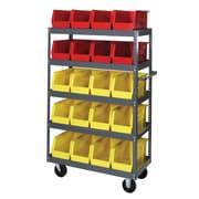 Quantum 57'' H 5 Shelf Shelving Unit; 18'' x 36'' x 57''