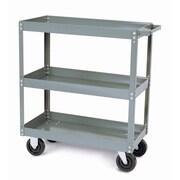 Quantum Heavy Duty Mobile Utility Cart; 24'' x 48'' x 35'' & 2 Shelves