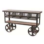 MOTI Furniture 4 Drawer Sever Cart