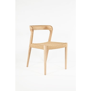 Control Brand Woven Papercord Oregrund Chair, Natural (FEC3112NATURAL)