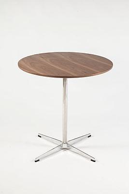 Control Brand Heerlen Wood/Veneer Side Table, Walnut, Each (FET0319BWALNUT)