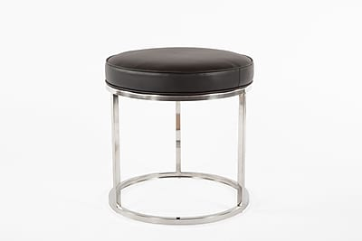 Control Brand 19.68 in. Black Nora Stool (FHC06BLK)