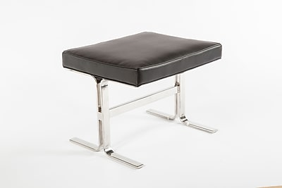 Control Brand 17.75 in. Black Arendal Stool (FHC07BLK)