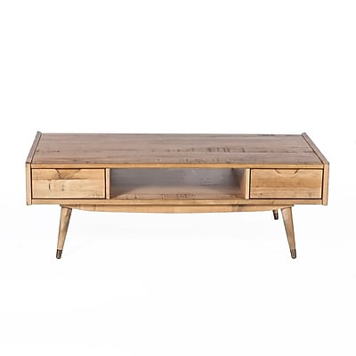 Control Brand Gaal Wood/Veneer Coffee Table, Brown, Each (FPT019NTRL)
