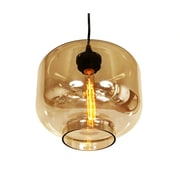 Control Brand Bergen Pendant Lamp, Brown (LM594PBRN)