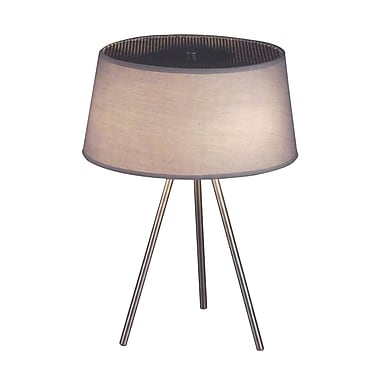 Control Brand Tracy Table Lamp, Grey (LS291T2)
