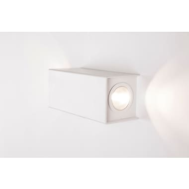 Control Brand LED Drammen Wall Sconce, White (LS820W2LED)