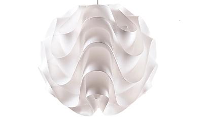 Control Brand Wave Pendant  Lamp, White (LSA03S1)