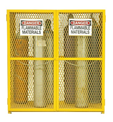 Durham Manufacturing Steel and Iron Vertical Cylinder Storage Cabinet