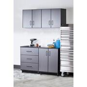 TuffStor Tuff-Stor Tough Storage System 7' H x 5' W x 2' D 4-Piece Cabinet Set