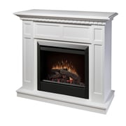Dimplex Electraflame Caprice Electric Fireplace; White