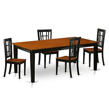 East West Quincy 5 Piece Dining Set