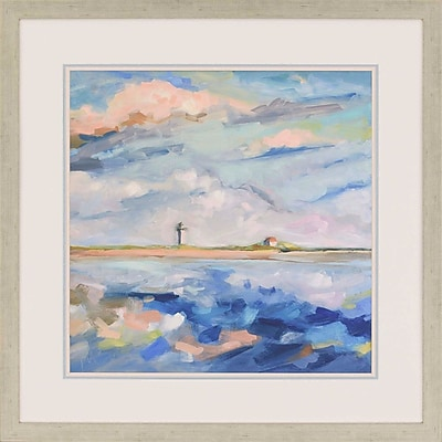 Paragon Seascape II by McAninch Framed Painting Print