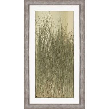 Paragon Dune Grass Framed Painting Print