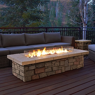 Real Flame Sedona Propane Fire Pit Table