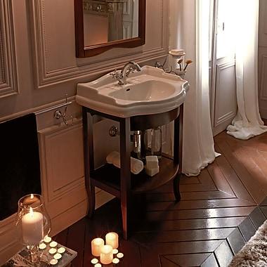 WS Bath Collections Kerasan Retro 27'' Single Console Bathroom Vanity Set; Three Hole