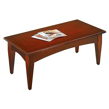 Flexsteel Contract Belmont Coffee Table; Brown Cherry