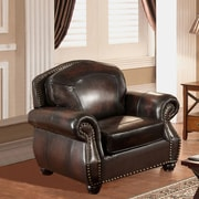 Amax Vail Leather Club Chair
