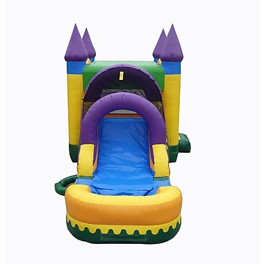 JumpOrange 13'x30' Jungle Zoo Mega Wet Dry Combo Bounce House