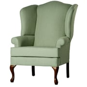 Comfort Pointe Crawford Wingback Chair; Cadet