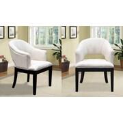 BestMasterFurniture Living Room Barrel Chair (Set of 2)