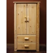 Lakeland Mills Frontier Armoire; Clear