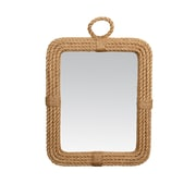 Jeffan Aspen Rectangular Mirror; Natural